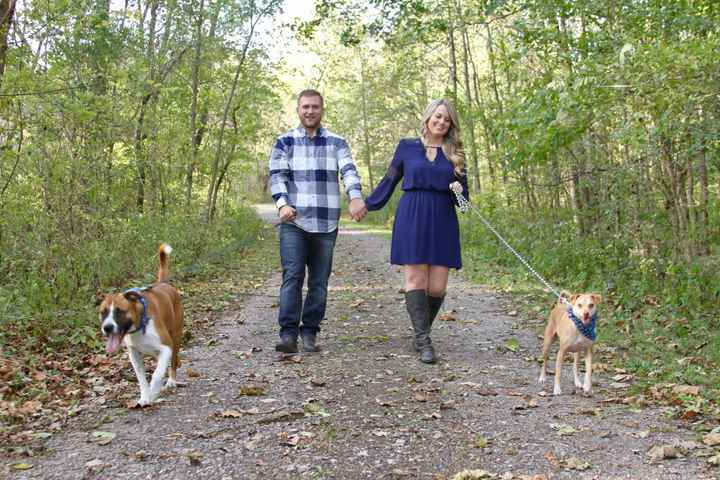 Engagement pics with our pup!!! - 3