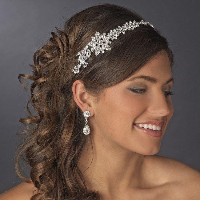 a805766de603e Does this look to young-headpiece   Weddings, Wedding Attire ...