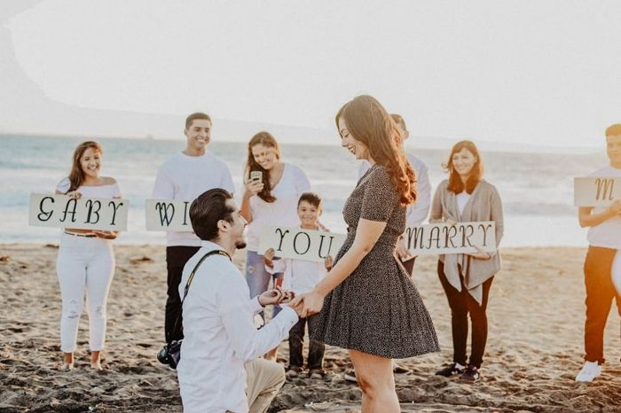 Was your proposal caught on camera? Share your proposal pic! 1
