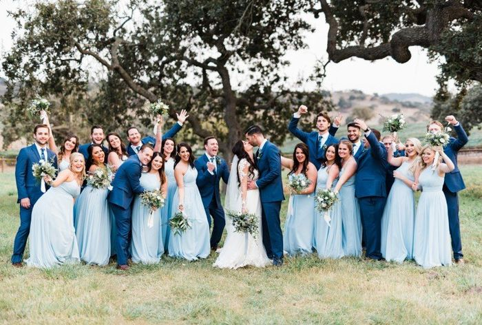Are you ditching the traditional wedding party? 1