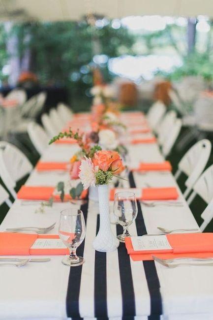 Coral wedding color! 3