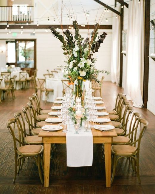 Rectangular Reception Tables 3