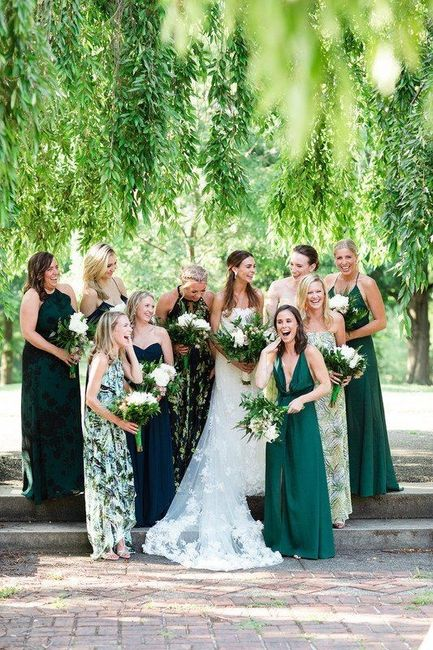 Help with Bridesmaid Dresses & Colors 3