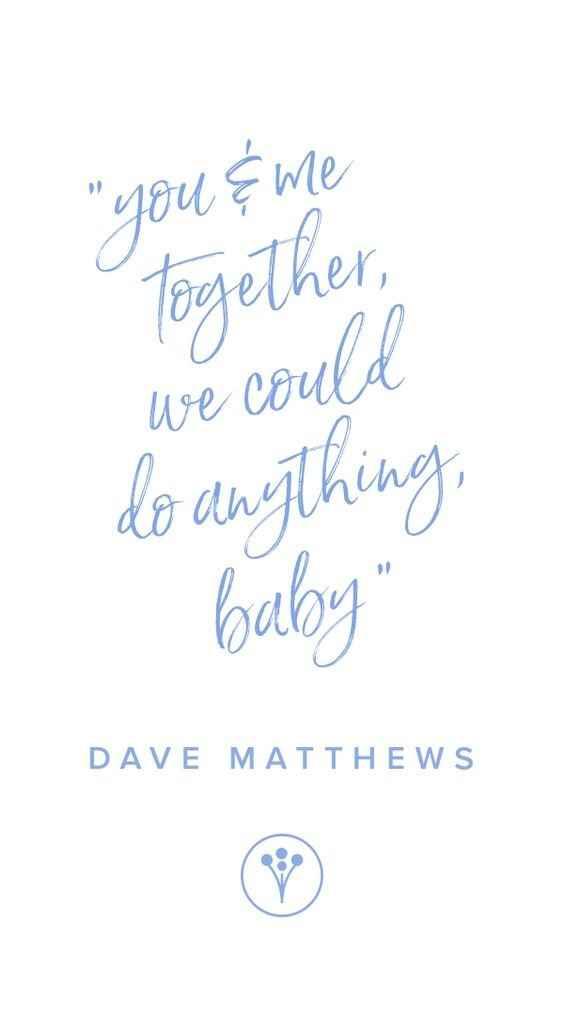 weddingwire dave matthews love quote