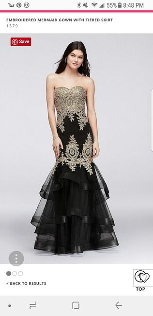 80918a6e585 Has anyone else worn a prom dress instead of a wedding dress   How ...