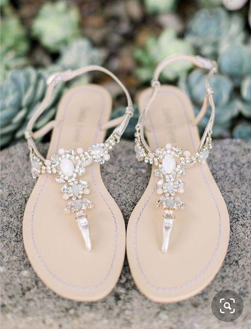 Flat Wedding Shoes 1
