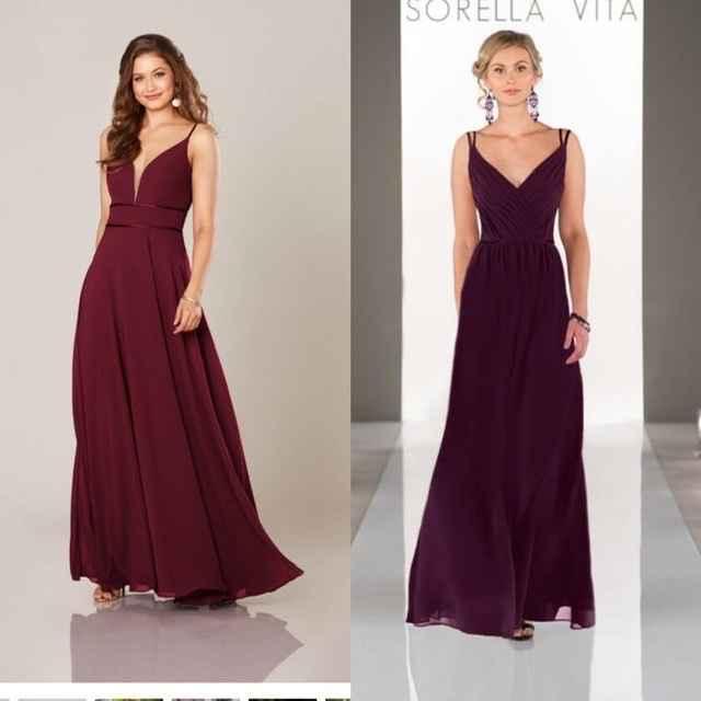 MOH/BM Dresses