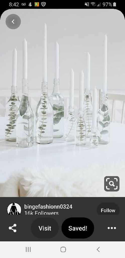 Table size and centerpieces - 2
