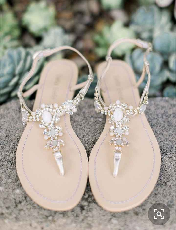 Flat Wedding Shoes - 1