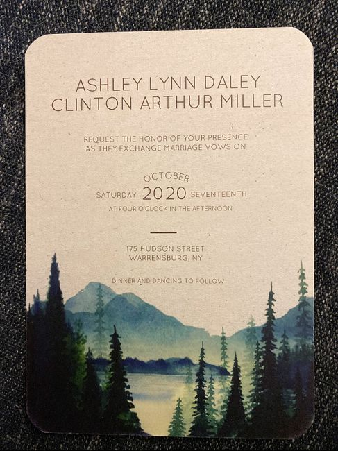 Invites and save the dates from Zazzle! 2