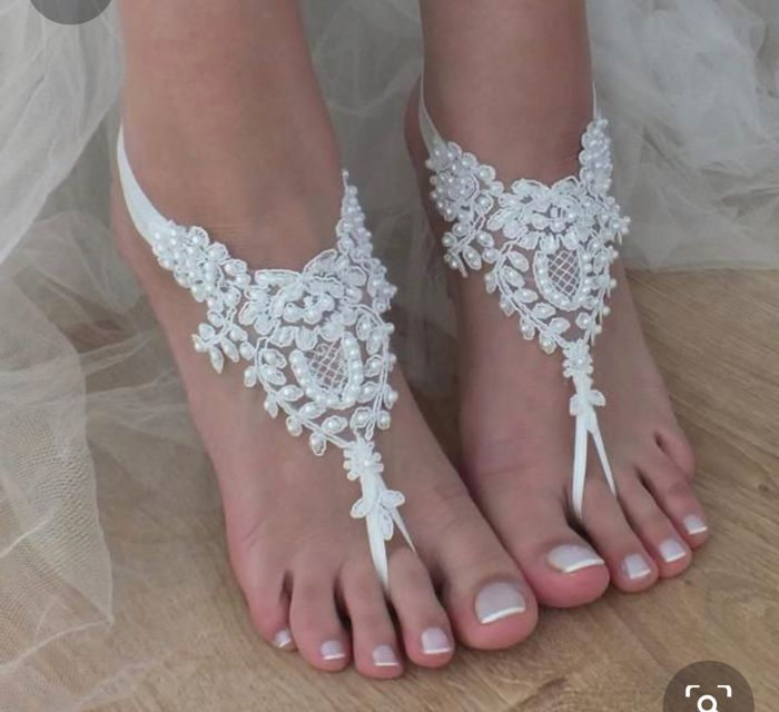 Beach Wedding! Shoes or No Shoes?? 1