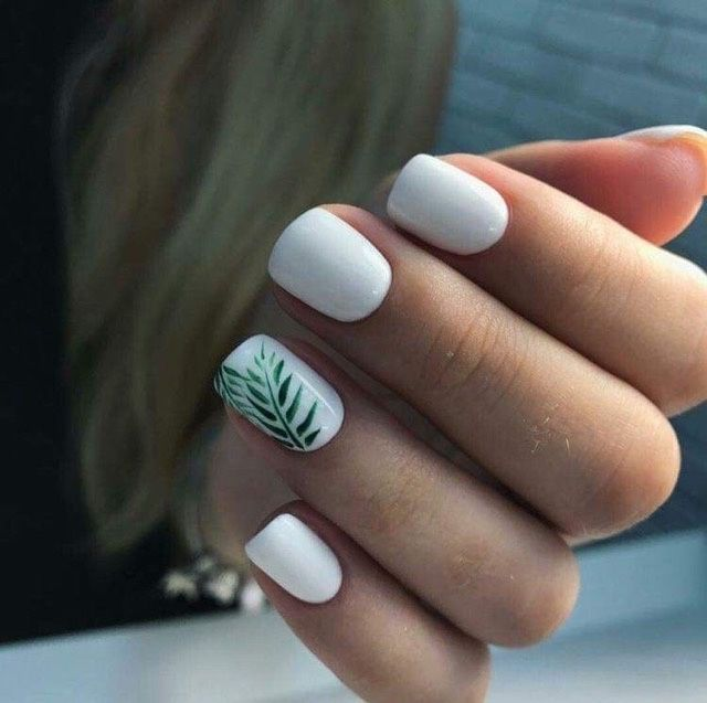 How are you doing your nails? 8