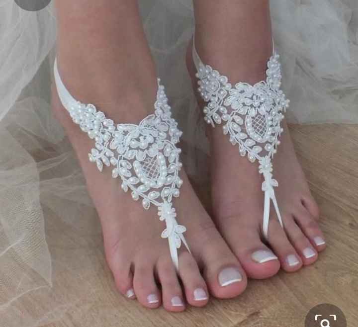 Beach Wedding! Shoes or No Shoes?? - 1