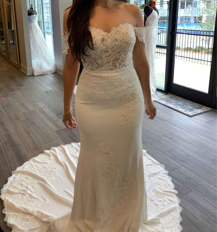 Wedding dress chronicles - 1