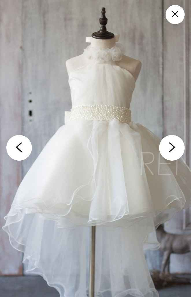 Purchased my Flower girl attire!!! - 1
