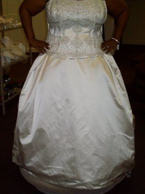 Bling-ed out wedding gowns!!!!