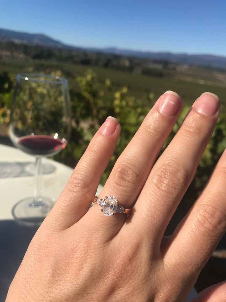 Engagement ring - 1