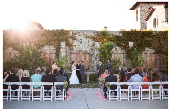 Indoor or outdoor wedding? - 1
