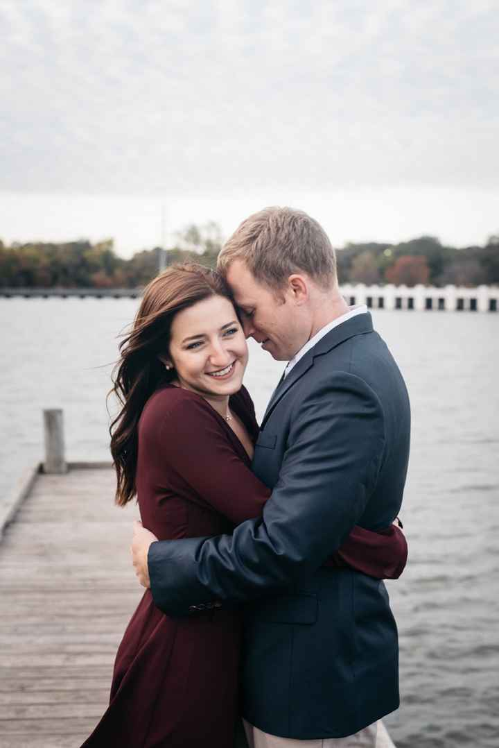 Your outfit for Engagement Photos? - 2