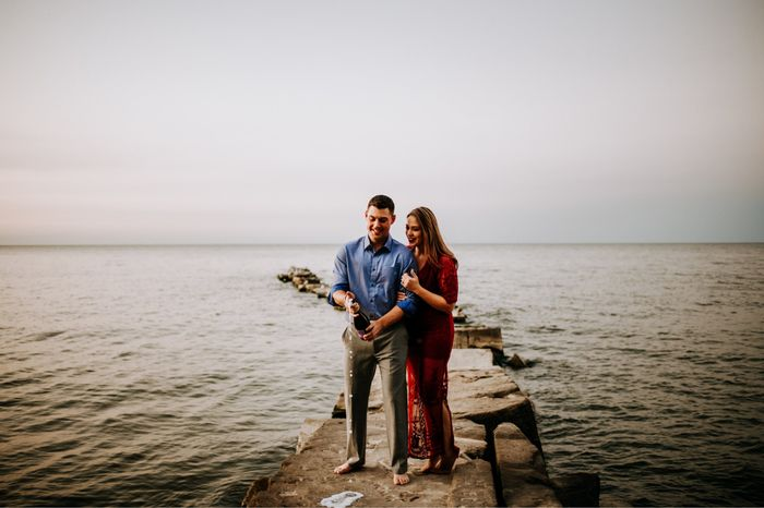 Our Engagement photo session! 7