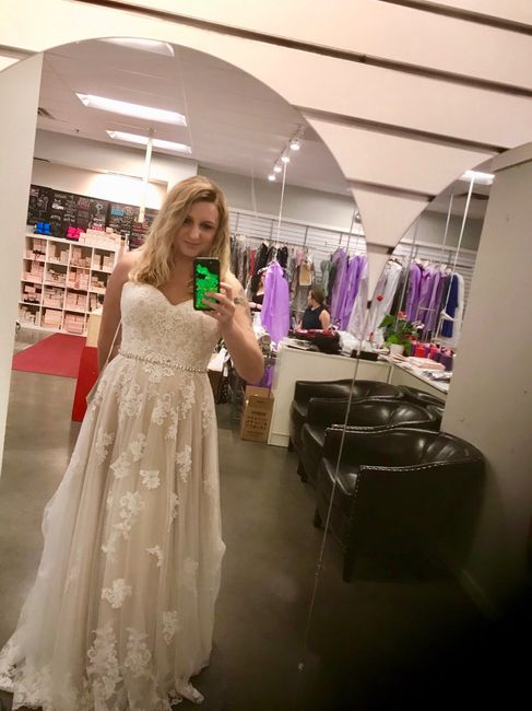 i Said Yes To My Dress!!!!! 9