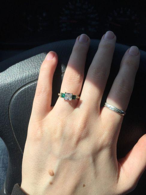 One year ago! Ring thread. 36