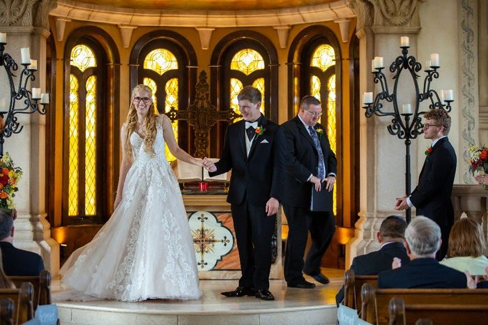 Share your recessional photo! 😊 23