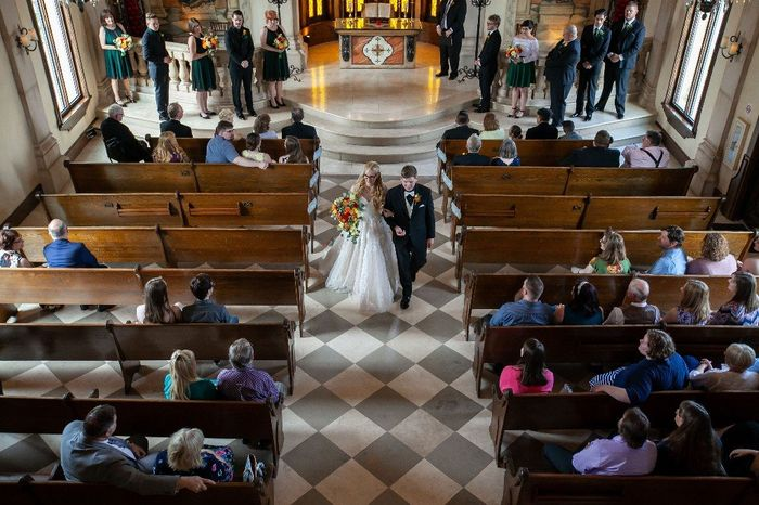 Share your recessional photo! 😊 27