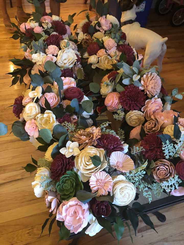 Has anyone diy bouquet? If so post pictures :) - 2