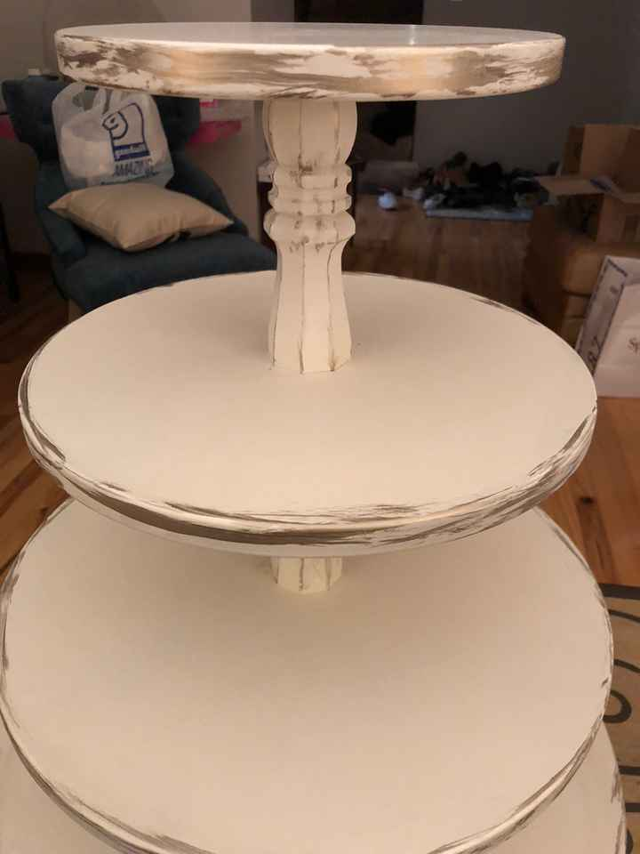 Cake stand complete!!! - 1