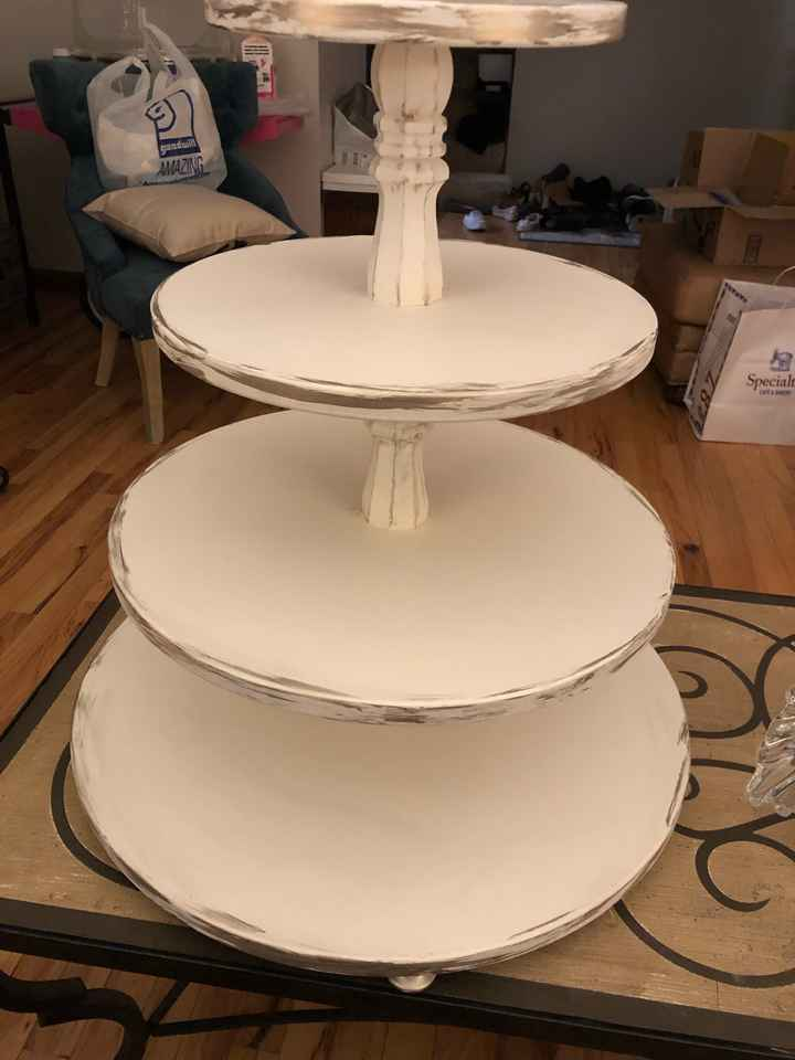 Cake stand complete!!! - 2