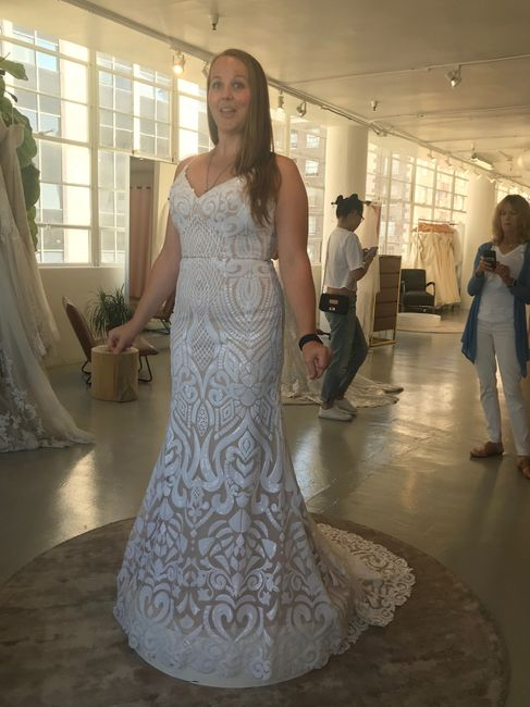 Let's see all the dresses you tried - good and bad 12