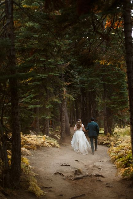 Forest Weddings:  Let's See Your Style Inspiration Pictures! 🌲📷 5