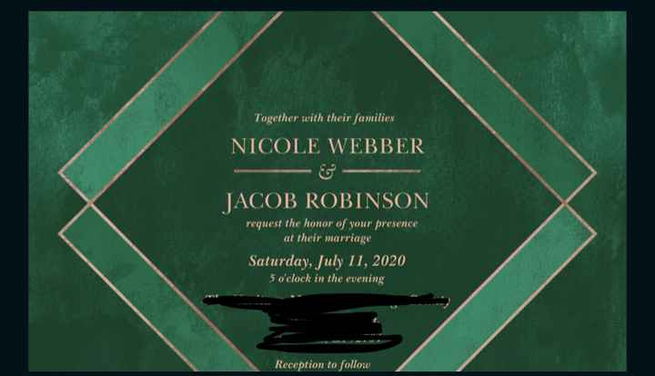 Show me your invitations! - 2