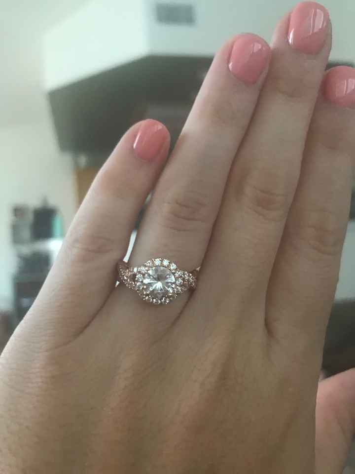 Rings! 1 carat with halo vs 1.5 carat with halo? - 1