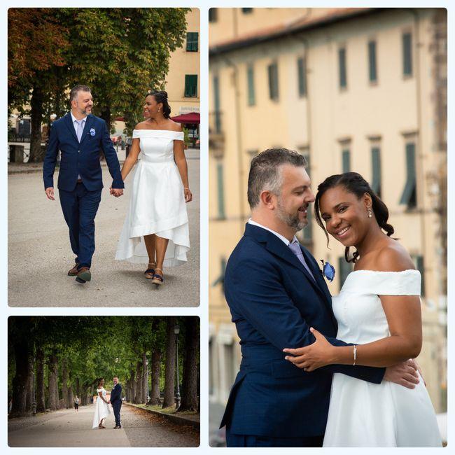 """Bam! Long over due wedding pics - Italy """"destination"""" diy Micro-wedding + virtual (27 Aug 2020) 3"""