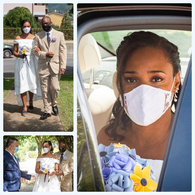 """Bam! Long over due wedding pics - Italy """"destination"""" diy Micro-wedding + virtual (27 Aug 2020) 4"""