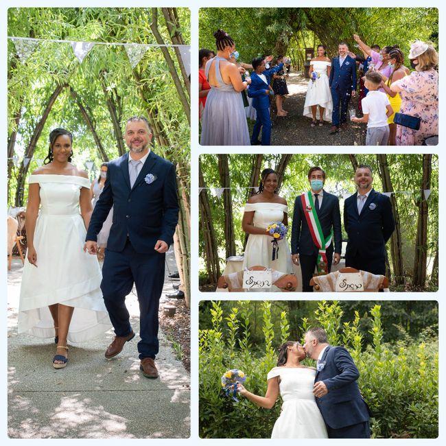"""Bam! Long over due wedding pics - Italy """"destination"""" diy Micro-wedding + virtual (27 Aug 2020) 6"""