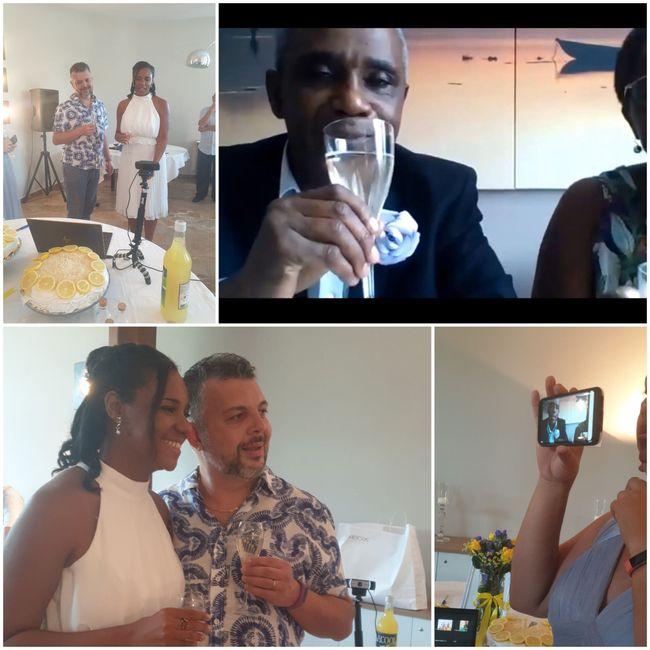 """Bam! Long over due wedding pics - Italy """"destination"""" diy Micro-wedding + virtual (27 Aug 2020) 7"""