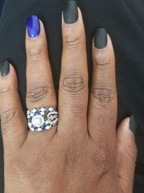 Show me your wedding ring set 11