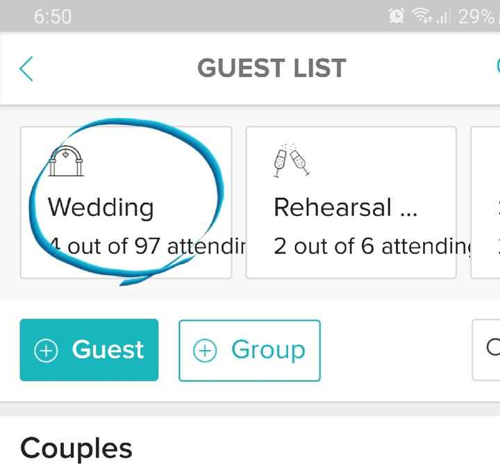 Trouble with Weddingwire - 1