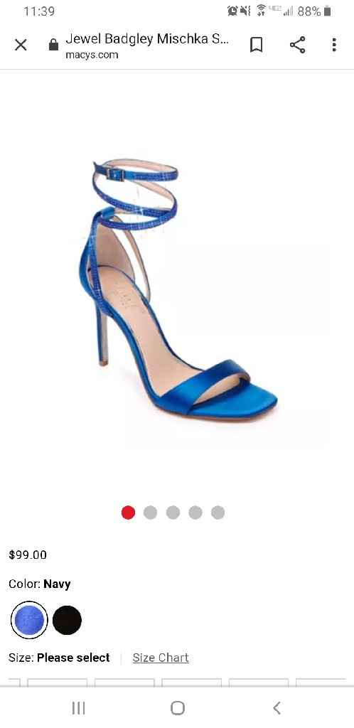 Wedding shoes help! - 1