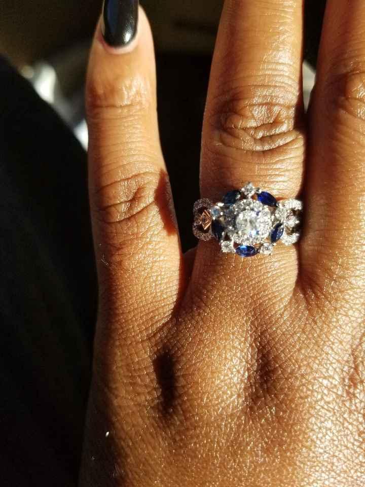 Gemstone rings - 1
