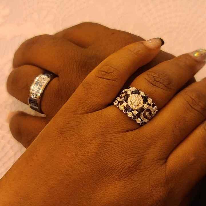 Wearing Diamond Band 24/7 - 1