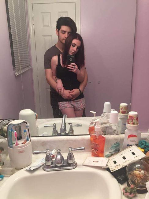 Post your first selfie as a couple! 11