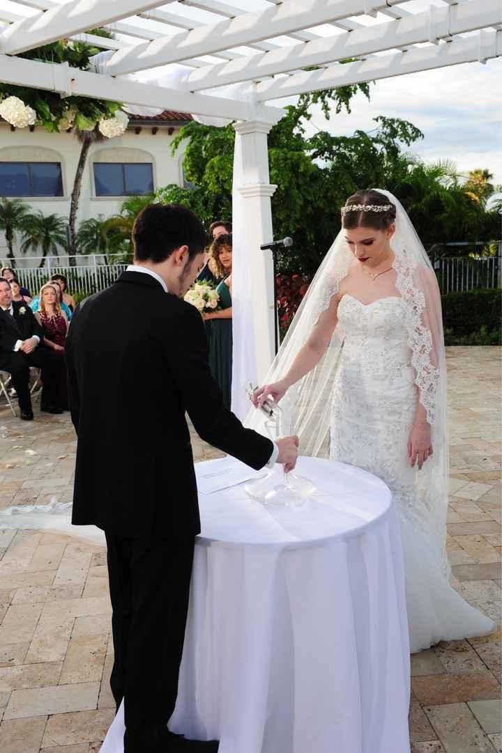 Secular wedding ritual? - 2