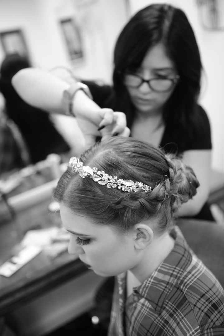 help with Bridal Hair - 1