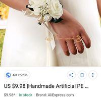 Bouquet versus wrist corsage - 1