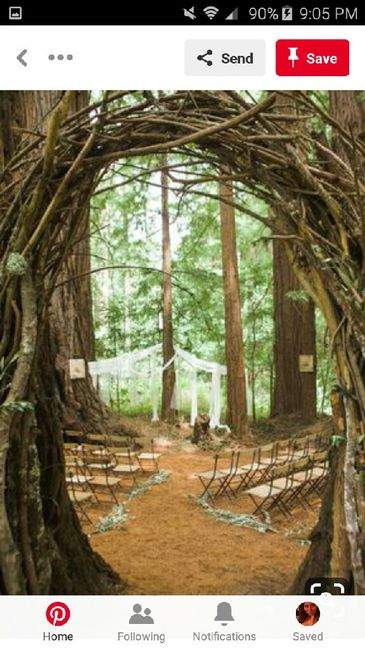 diy Enchanted Forest Themed Wedding Decorations 23