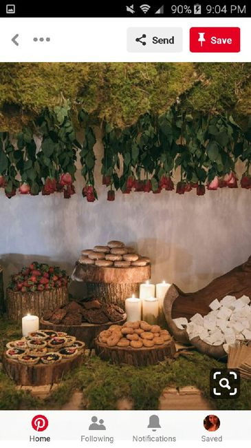 diy Enchanted Forest Themed Wedding Decorations 24